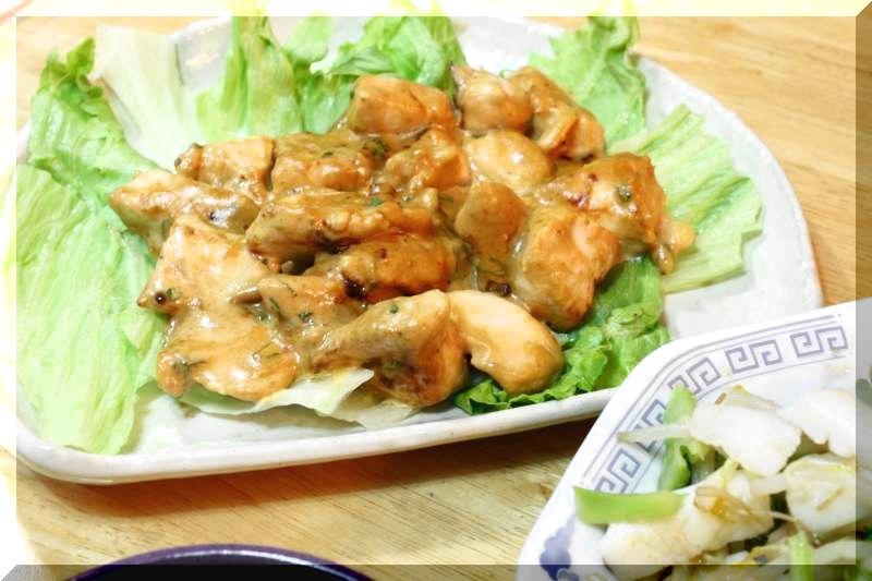 鶏むね肉のみそマヨネーズ煮_f0100825_22161234.jpg