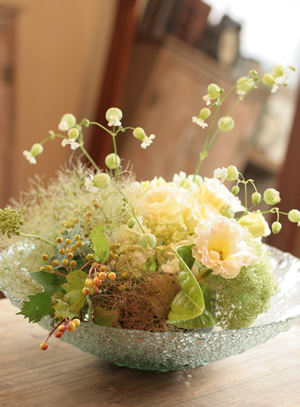 花の輪 _d0086634_1704558.jpg