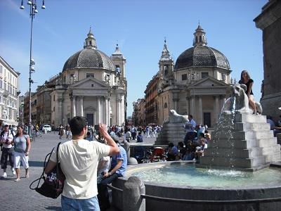 ローマ・マルグッタ通り(1)~情緒あふれる静かな通り_a0172661_8371352.jpg