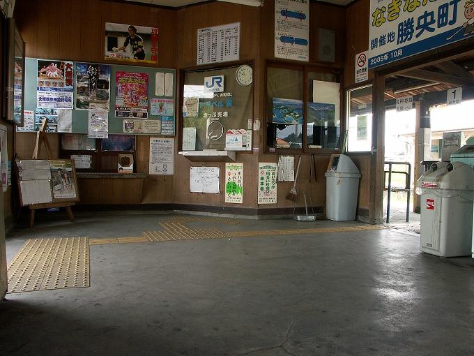 姫新線 勝間田駅/林野駅_f0116479_2248488.jpg
