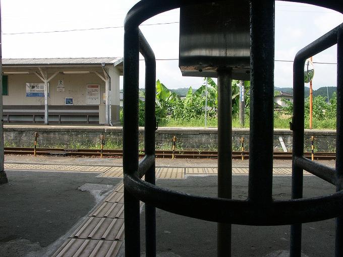 姫新線 勝間田駅/林野駅_f0116479_22495390.jpg