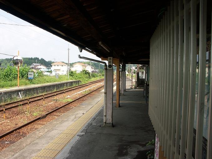 姫新線 勝間田駅/林野駅_f0116479_232411.jpg