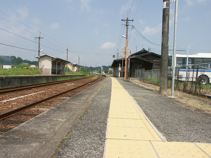 姫新線 勝間田駅/林野駅_f0116479_2333271.jpg