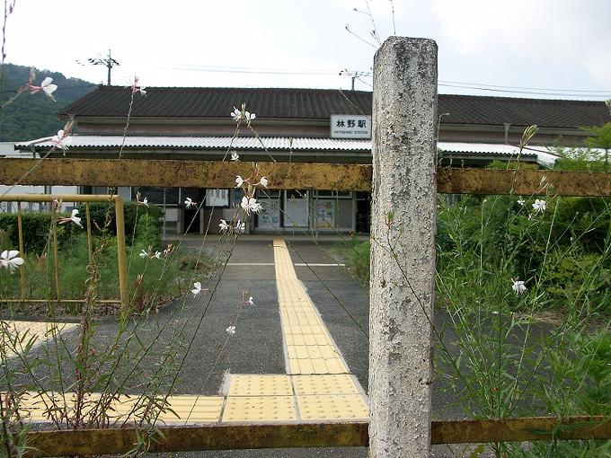 姫新線 勝間田駅/林野駅_f0116479_23375263.jpg