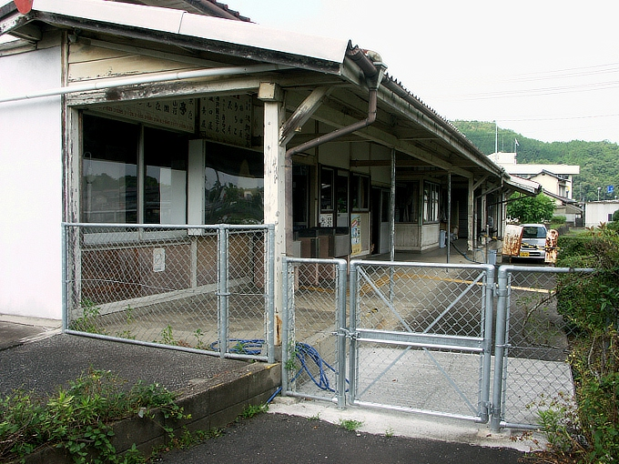 姫新線 勝間田駅/林野駅_f0116479_2337592.jpg
