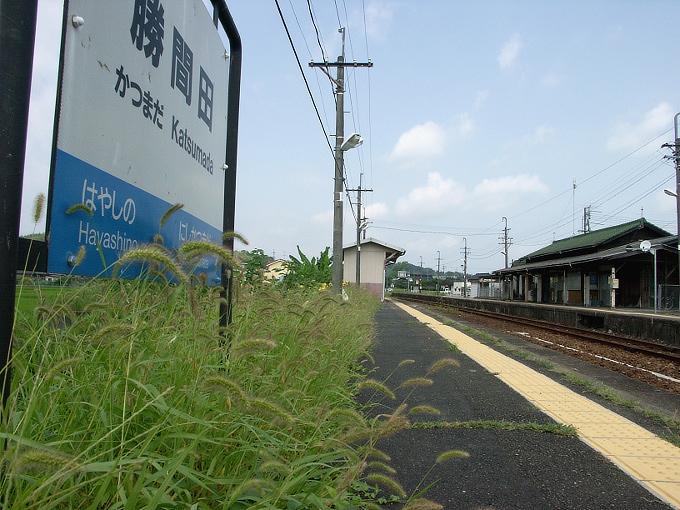 姫新線 勝間田駅/林野駅_f0116479_23420100.jpg