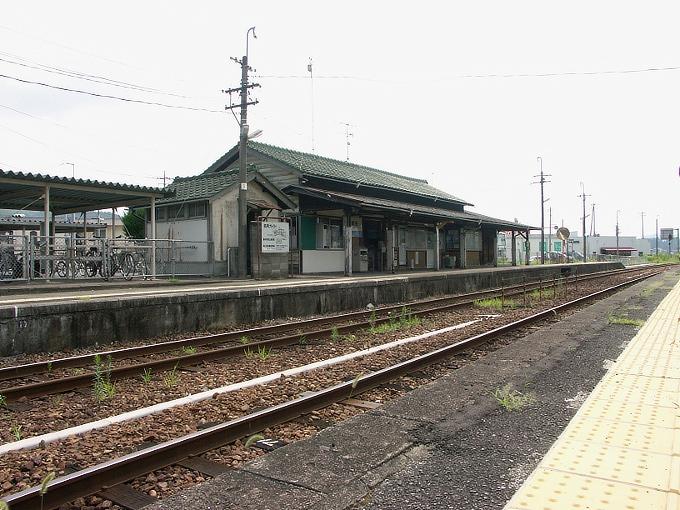 姫新線 勝間田駅/林野駅_f0116479_23716100.jpg