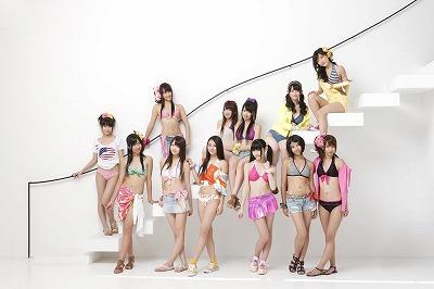 SUPER☆GiRLS」の「MAX!乙女心/Happy GO Lucky!~ハピ☆ラキでゴー!~」初日、4位にランクイン_e0025035_9102758.jpg