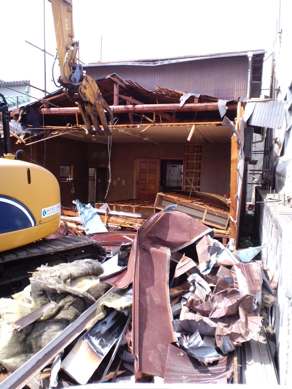 木造家屋解体工事_f0110349_17421537.jpg