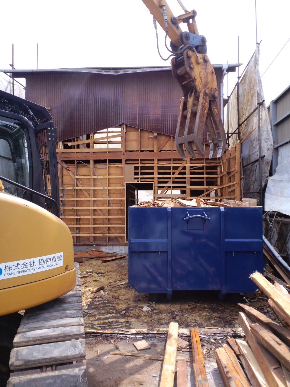 木造家屋解体工事_f0110349_17462320.jpg