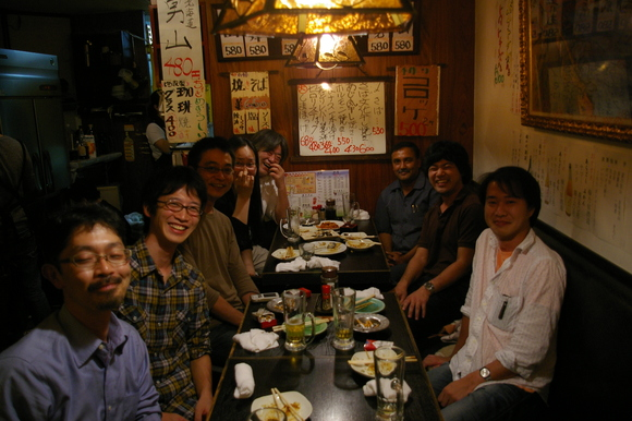 Days in Tokyo, with Prof.Mallah#2_a0186568_23322910.jpg
