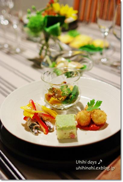 ビストロ marron で美食な晩餐_f0179404_1813954.jpg