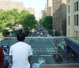 ニューヨークの空中公園ハイライン、第二区間にも展望台 26th Street Viewing Spur_b0007805_20325478.jpg