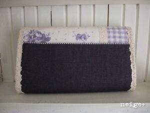 YUWA紫ローズの長財布 ♪_f0023333_2233579.jpg