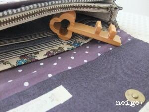 YUWA紫ローズの長財布 ♪_f0023333_22491882.jpg
