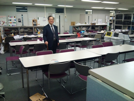 工学院大学 建築学部 長澤泰学部長を訪問_f0138645_5593576.jpg