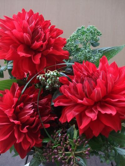 オークリーフ(一花とグリーンミックスアレンジメントpart2)_f0049672_9302112.jpg