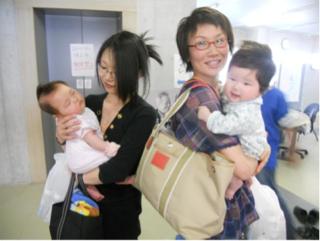 気仙沼乳児検診にて2日目の配布をして下さいました_e0030586_856159.jpg