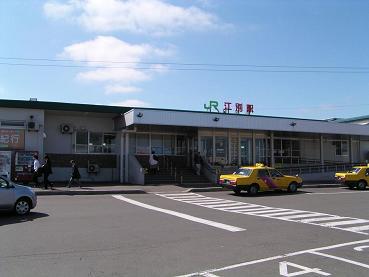 JR江別駅界隈_f0078286_9523232.jpg