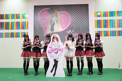 東京おもちゃショー2011のタカラトミーステージ「ジェニー×SUPER☆GiRLS クイズ&撮影会」に出演_e0025035_13483371.jpg
