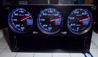 Defi Racer Gauge 3連メーターパネル ユニット完成♪_e0146484_1512284.jpg