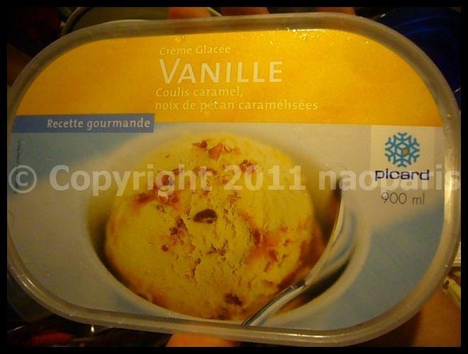 【アイスクリーム】いけてたスーパーのアイスクリーム(PICARD)PARIS_a0014299_18521726.jpg