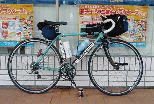 自転車の 自転車 旅 クロス ロード : 自転車旅 : 風そよぐ、晴れた海
