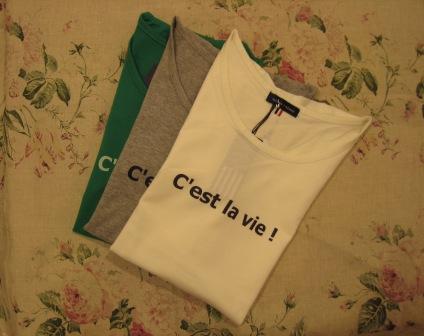 T シャツもいろいろあります。_c0227633_0453942.jpg