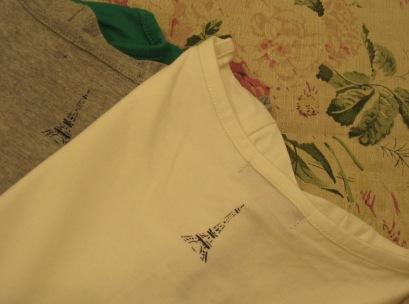 T シャツもいろいろあります。_c0227633_0455587.jpg