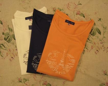 T シャツもいろいろあります。_c0227633_048563.jpg