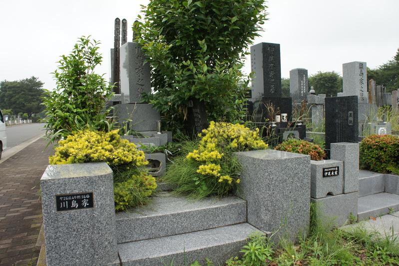 K家様 お墓のリフォーム  2011.6.19_e0223769_16171968.jpg
