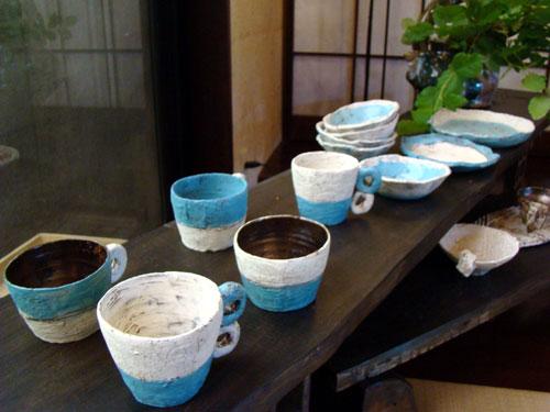 陶芸ギャラリー& カフェ ラングザーム_a0047200_2001125.jpg