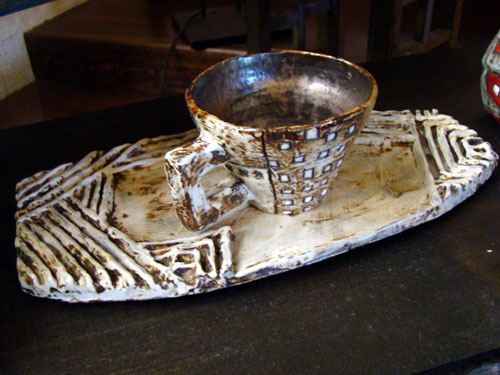 陶芸ギャラリー& カフェ ラングザーム_a0047200_200747.jpg
