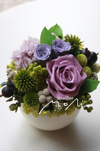 ラベンダー色のバラで_a0136507_20521747.jpg