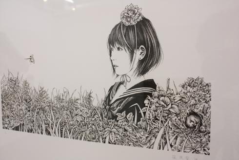 篠原愛展「ゆりかごから墓場まで」_b0170514_22102828.jpg
