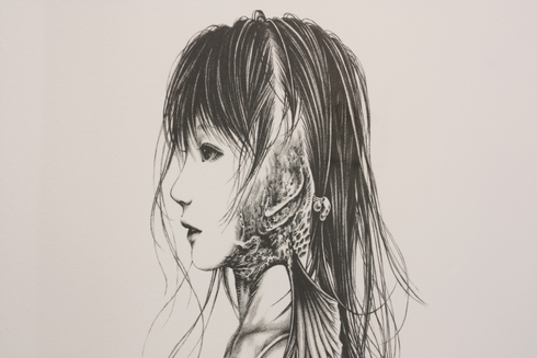 篠原愛展「ゆりかごから墓場まで」_b0170514_2295436.jpg