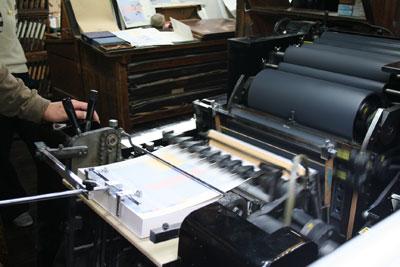 「Room」展のハガキ印刷のため、斉田製版社へ伺いました。_f0171840_9572511.jpg