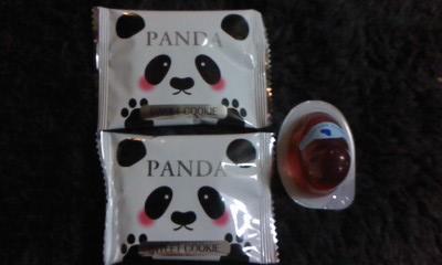 パンダとひよこゼリー_b0217741_22352519.jpg