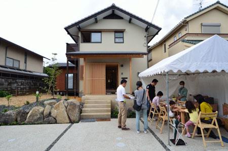 建物完成見学会 「大和郡山の家」_e0164563_14124557.jpg
