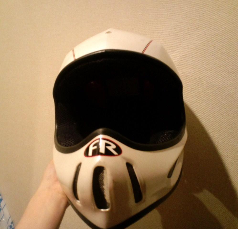思い出のヘルメット☆_c0151965_1685992.jpg