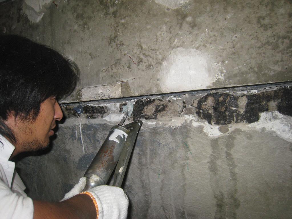 地下室の水漏れ_f0205367_1852583.jpg