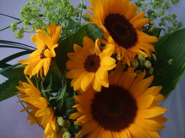 オークリーフ(父の日に贈る花束)_f0049672_16271147.jpg