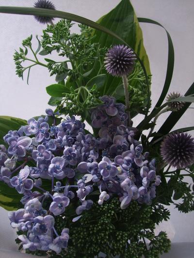 オークリーフ(父の日に贈る花束)_f0049672_16322832.jpg