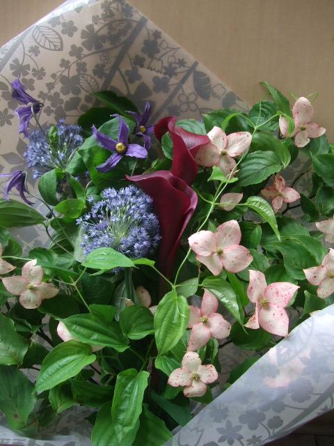 オークリーフ(父の日に贈る花束)_f0049672_16365326.jpg