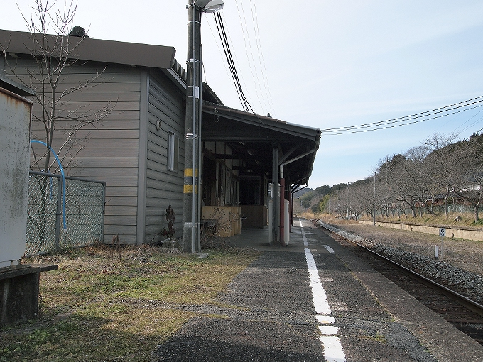 姫新線 美作江見駅/美作土居駅_f0116479_0434867.jpg