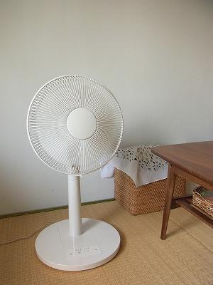 【 無印のマイコン扇風機、3900円。 】_c0199166_1739970.jpg