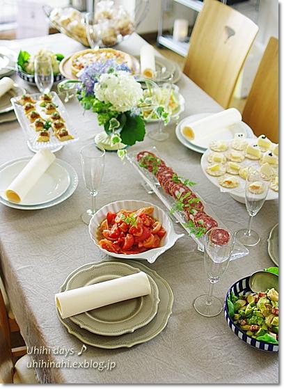 イタリアからおかえりなさい! Party♪_f0179404_6474237.jpg