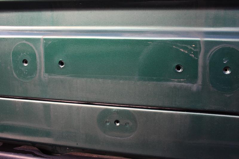 グリーンのTJ 外装磨き_f0105425_1818177.jpg