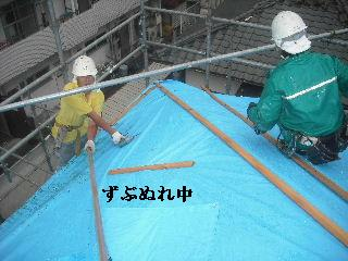 屋根材搬入・・・_f0031037_21311028.jpg