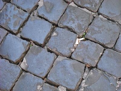 ぼこぼこの石畳に四苦八苦。あるいは、うるさいサンダルに四苦八苦_a0172661_5554914.jpg